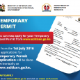 "<div class=""at-above-post-cat-page addthis_tool"" data-url=""https://www.how.co.ke/how-to-apply-for-temporary-travel-permit-in-kenya/""></div>For people travelling within the East African region and have no passports, here is temporary relief. You can now apply for a Kenyan temporary passport online. The application process in […]<!-- AddThis Advanced Settings above via filter on wp_trim_excerpt --><!-- AddThis Advanced Settings below via filter on wp_trim_excerpt --><!-- AddThis Advanced Settings generic via filter on wp_trim_excerpt --><!-- AddThis Share Buttons above via filter on wp_trim_excerpt --><!-- AddThis Share Buttons below via filter on wp_trim_excerpt --><div class=""at-below-post-cat-page addthis_tool"" data-url=""https://www.how.co.ke/how-to-apply-for-temporary-travel-permit-in-kenya/""></div><!-- AddThis Share Buttons generic via filter on wp_trim_excerpt -->"